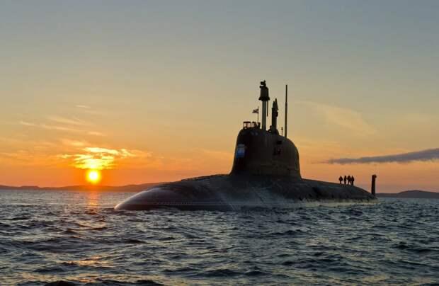 """Новейший российский подводный ракетоносец Северодвинск типа """"Ясень"""". Источник изображения:"""