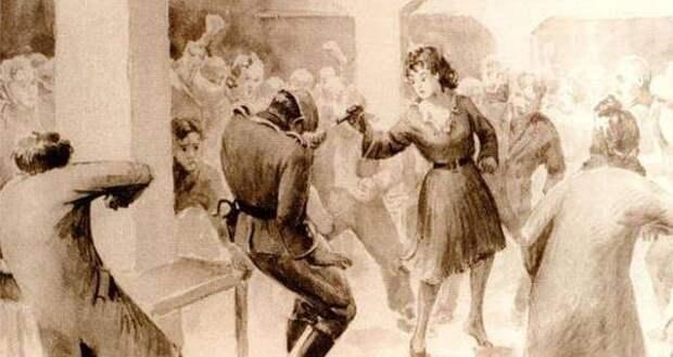 Кровавый стриптиз Франчески Манн в лагере смерти