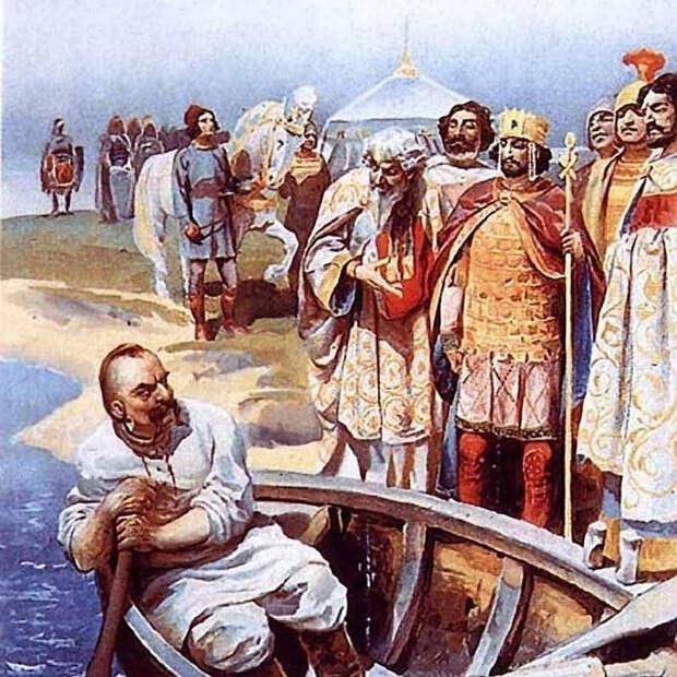 Сражение при Доростоле. Святослав против Цимисхия.