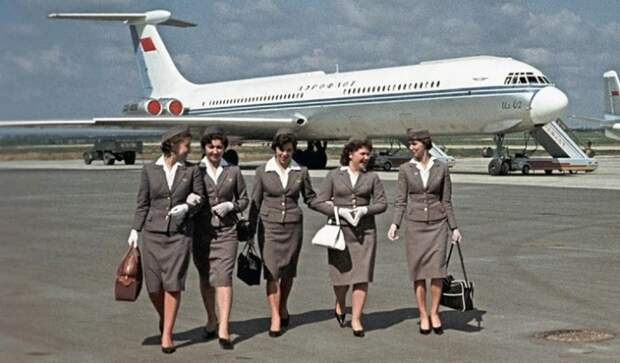 Воздушный сервис по-советски, или Каким был «Аэрофлот» полвека назад