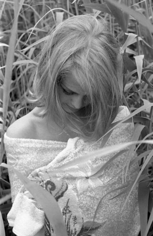 Красотки (икрасавчик) вполотенцах: 9 винтажных фотографий звезд после душа
