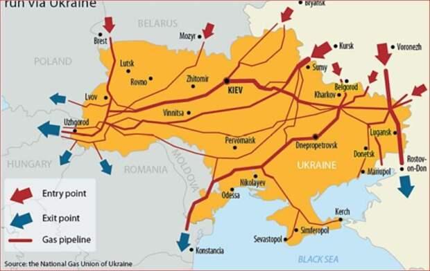 Вот так США собрались спасать газовый транзит Украины