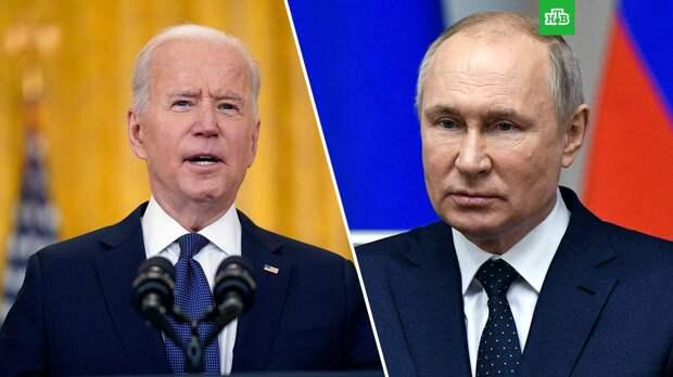 Байден сообщил, что встретится с Путиным