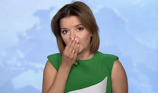 У украинской телеведущей Марички Падалко в прямом эфире выпал зуб