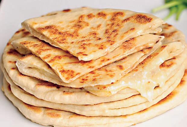 Хачапури на сковороде: способ для ленивых