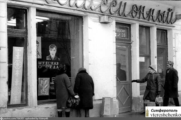 Роль комиссионных магазинов в обеспечении товарами советских людей