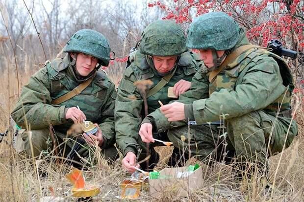 14 армейских сухпайков изразных стран мира