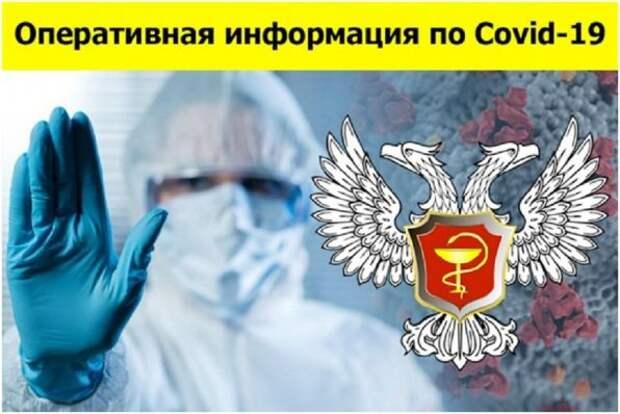 Свежая водка по COVID-19 в ДНР: выявлено 529 новых случаев заболевания
