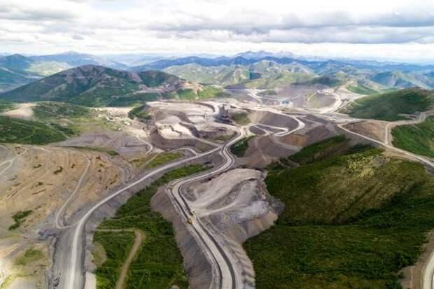 """Запасы """"Полюса"""" оценены в 104 млн унций золота"""
