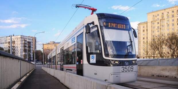 Трамвай № 6 снова вышел на маршрут после ремонтных работ