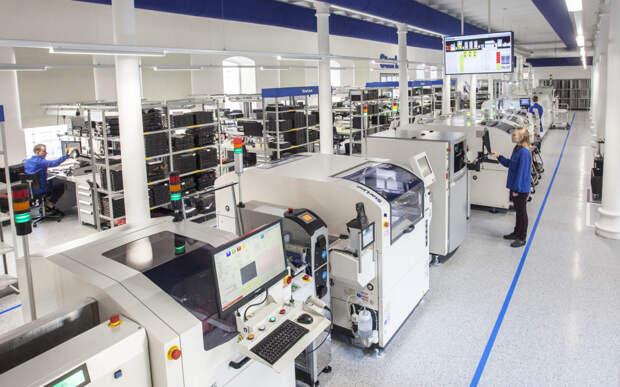 В России построен крупный завод электроники