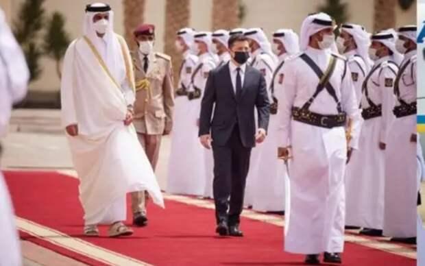 «Пора в Ростов» — Зеленского подняли на смех за желание помочь Катару
