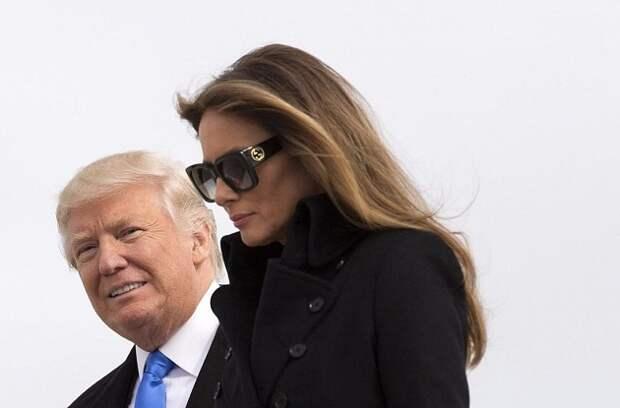 Мелания Трамп несчастна в роли первой леди