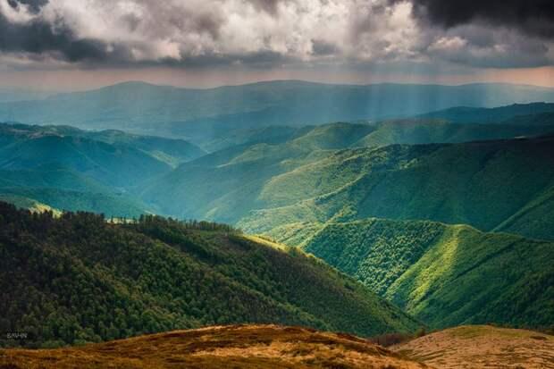 На пороге неба: весенние Карпаты