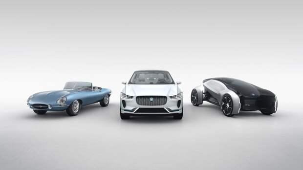 Говорящие рули и электрические ретро-кары: будущее по версии Jaguar Land Rover
