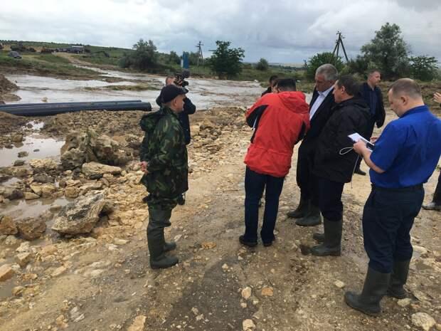 Пострадавшим от наводнения в селе Приозерное Ленинского района выплатят компенсации
