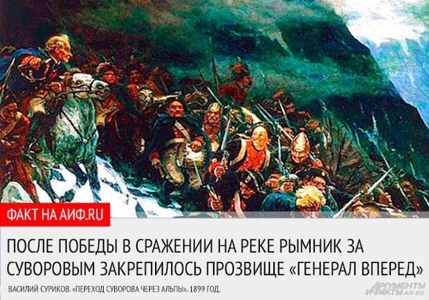 Турецкий погром. Как генерал Суворов стал графом Рымникским