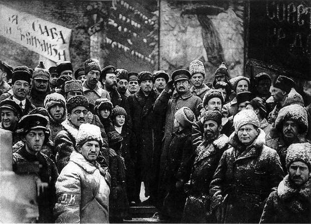 Ленин и Троцкий 1918