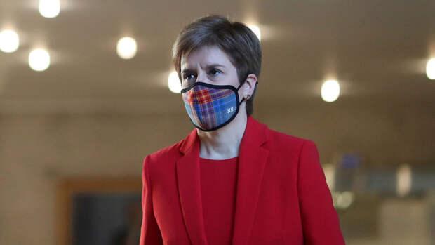 В Шотландии на парламентских выборах победила партия националистов