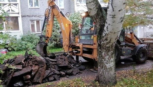 Часть дворов в Петрозаводске благоустроят на год раньше срока