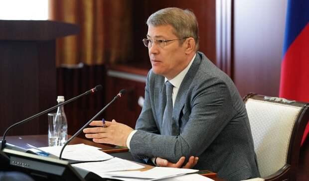 Радию Хабирову предложили сделать 14мая выходным днем вшколе