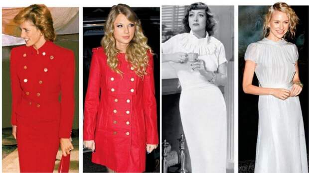 11 знаменитостей, скопировавших стиль звезд из прошлого