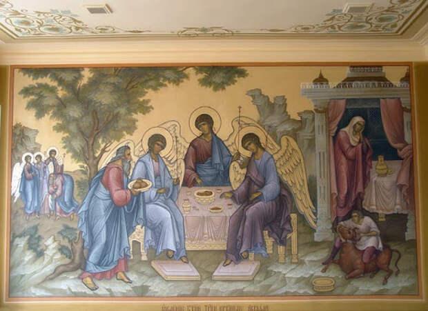 Обещанное Аврааму Святой Троицей сбывается: из его поколения вочеловечивается Бог. И вот к какому народу принадлежали те древние евреи