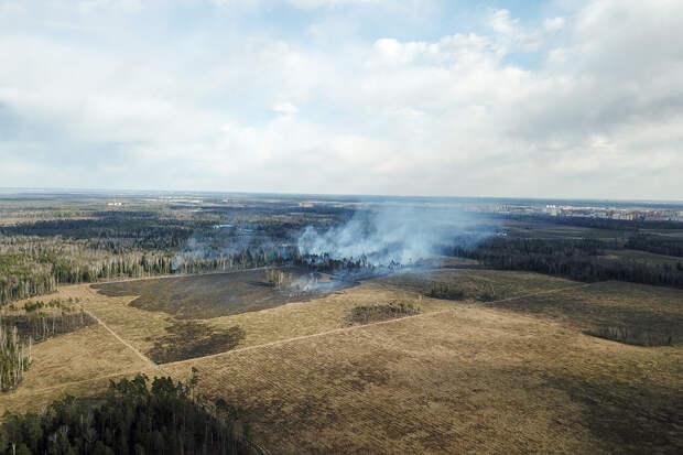 МЧС ликвидировало сотню пожаров за сутки