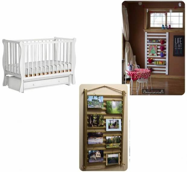 Детская кроватка на даче: 4 идеи