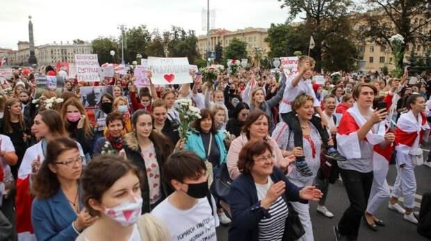 Западные кураторы протестов в Белоруссии снова активизировались