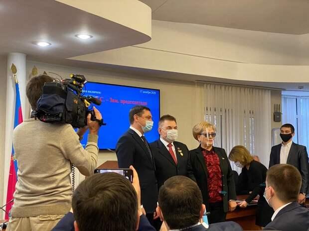 Почетным гражданам Краснодара вручили знаки отличия
