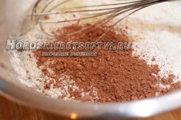Шоколадные блины