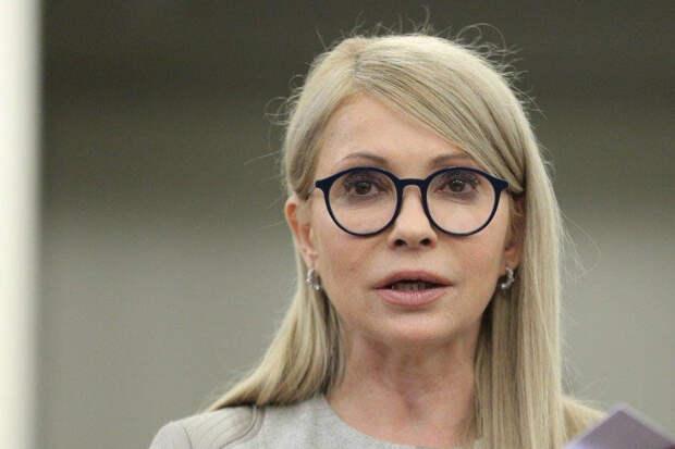 Тимошенко призвала ужесточить санкции против РФ