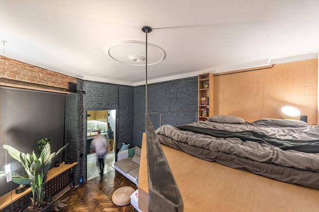 Маленький лофт в историческом доме во Львове