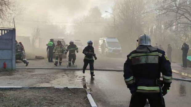 Четыре человека погибли в Подмосковье при пожаре в цехе