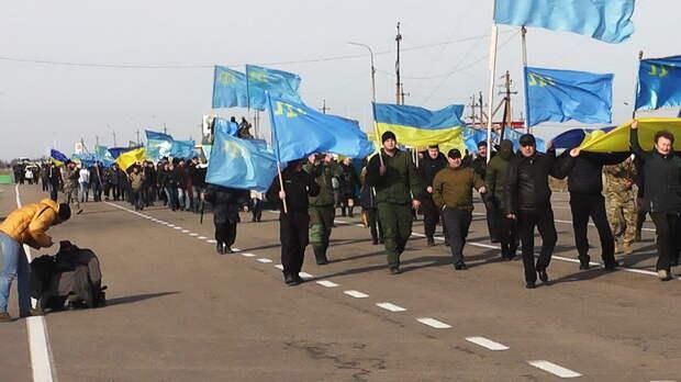 «Меджлис»* планирует прорвать крымскую границу и устроить митинг в Симферополе