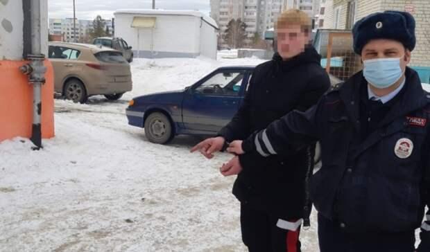Пьяный 19-летний свердловчанин угнал чужую машину покататься и попался ДПС