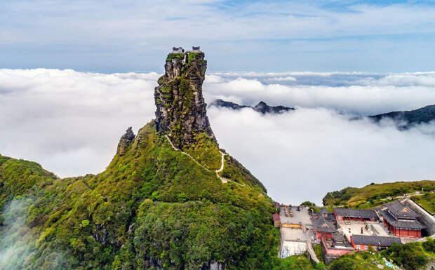 Горы Фаньцзиншань