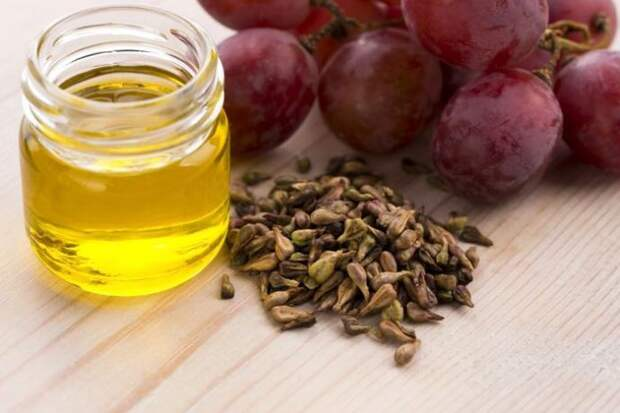 виноградное масло и виноград