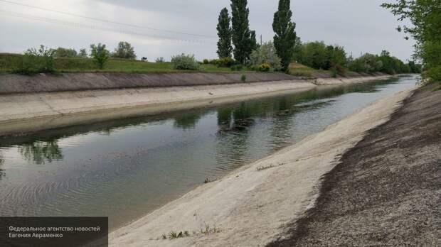 Белорусы, украинцы и прибалты восхитились заполнением Северо-Крымского канала водой