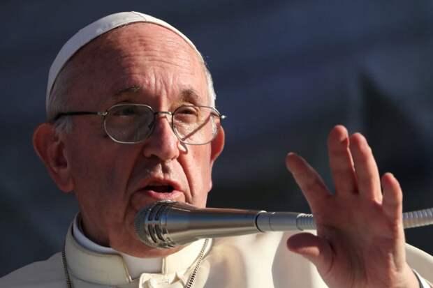 Папа римский заявил, что миру нужна альтернатива капитализму