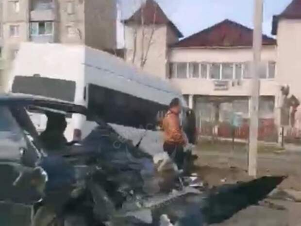 В ГИБДД рассказали подробности ДТП с маршруткой в Чите