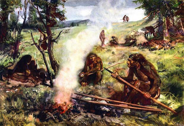 Ученые выяснили, как именно охотились неандертальцы