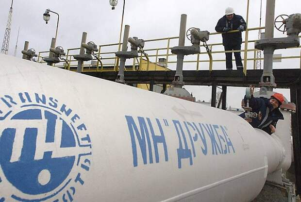"""Работа нефтепровода """"Дружба"""" приостановлена ради нефти SOCAR"""
