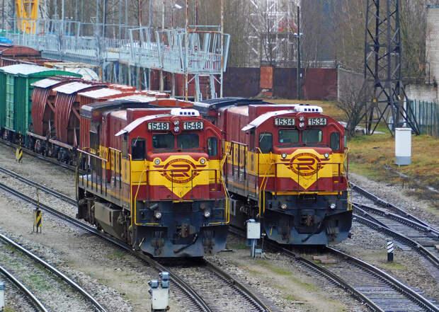 Эстонская железная дорога хочет решить свои проблемы за счет России