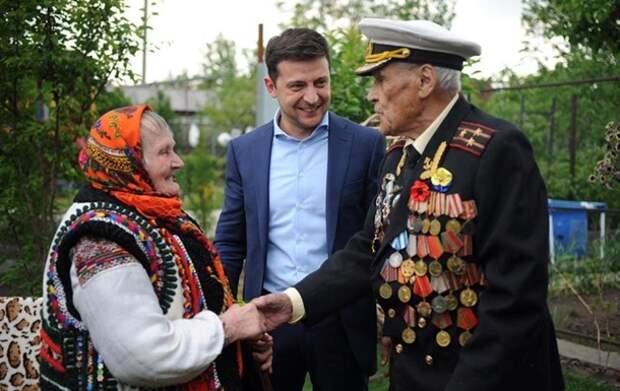 Зеленский опубликовал фото с ветеранами УПА и СССР