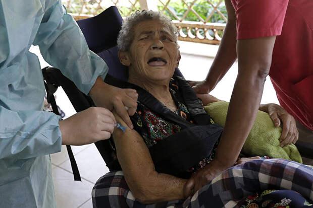 Бразильцы боятся прививаться вакциной AstraZeneca