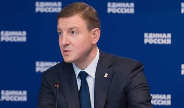 Андрей Турчак посетил обновленную экспозицию «Поезда Победы» вМоскве