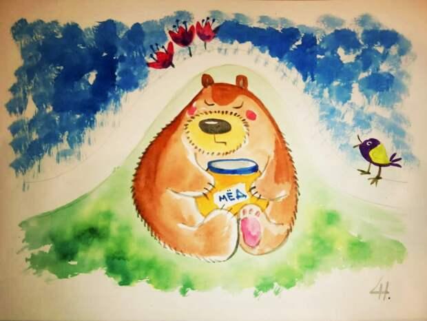 Онлайн-выставка детского рисунка пройдёт в соцсетях Лианозовского парка