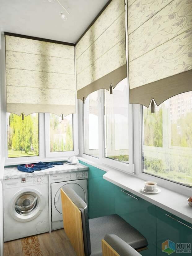 Ванная, санузел и балкон